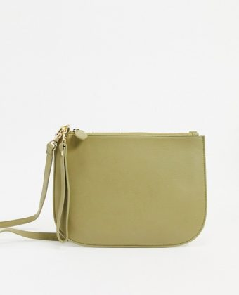 Half moon crossbody bag